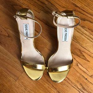 Gold Steve Madden Heels